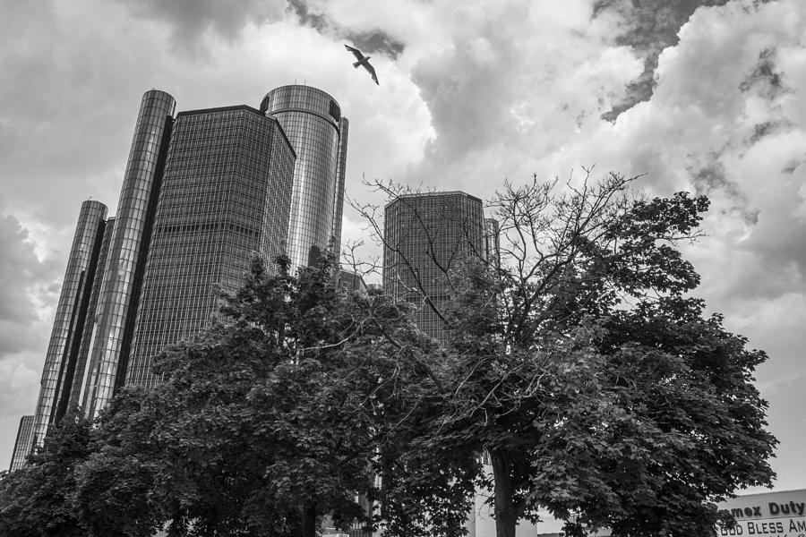 Detroit Photograph - Renaissance Center In Detroit by John McGraw
