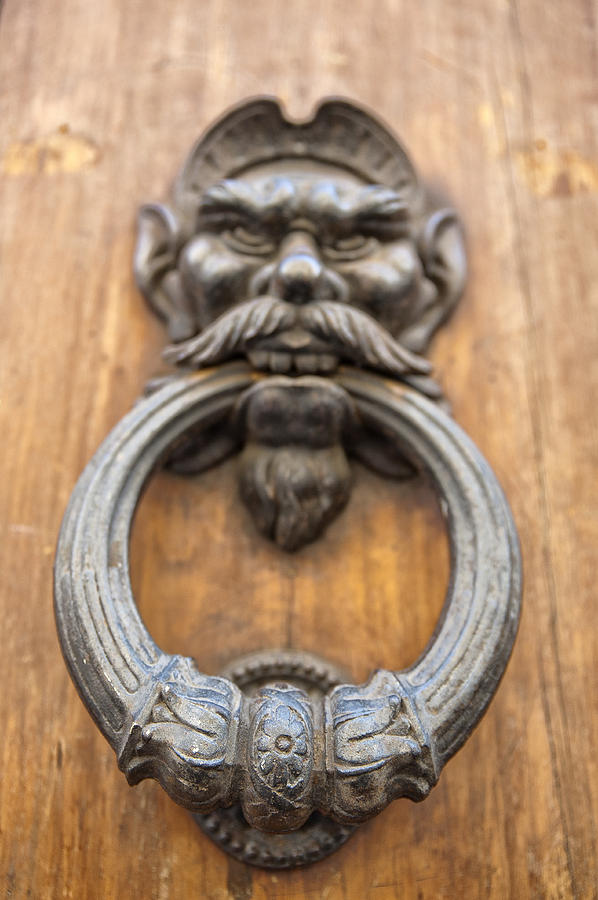 Architecture Photograph - Renaissance Door Knocker by Melany Sarafis