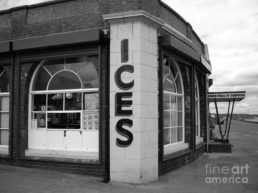 Rendezvous Photograph - Rendezvous Cafe by Malcolm Suttle