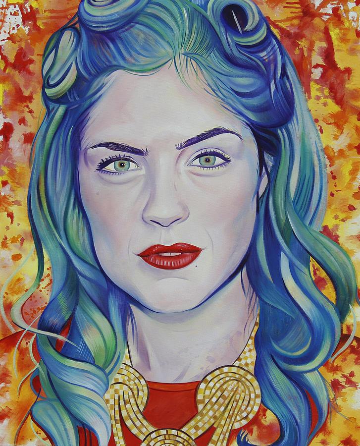 Rene Taylor Painting - Rene Taylor by Joshua Morton