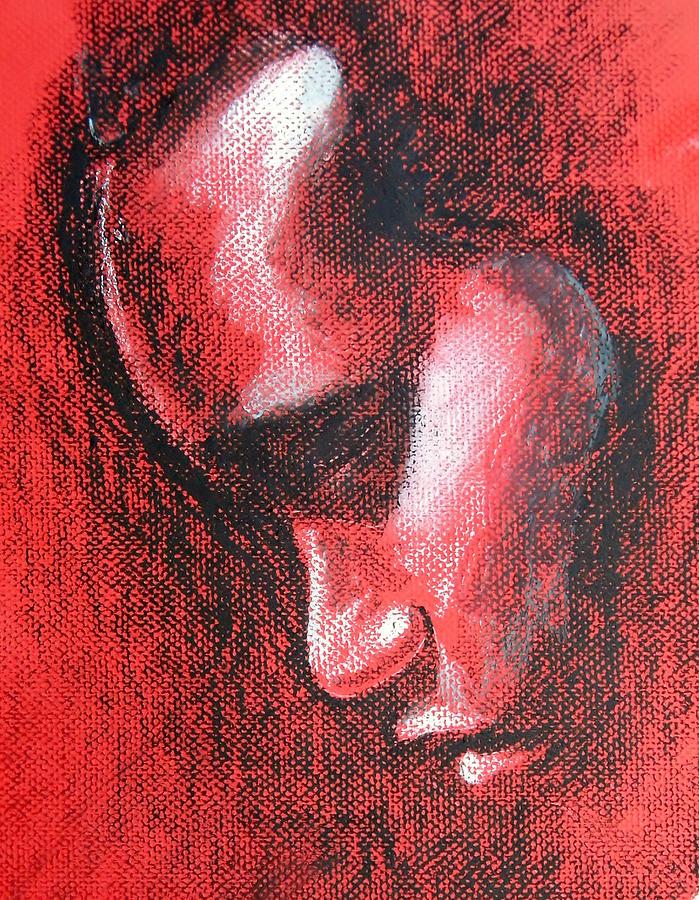 Alphonso Drawing - Renew My Mind by Alphonso Edwards II