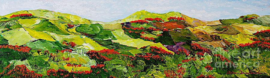 Landscape Painting - Renewal by Allan P Friedlander