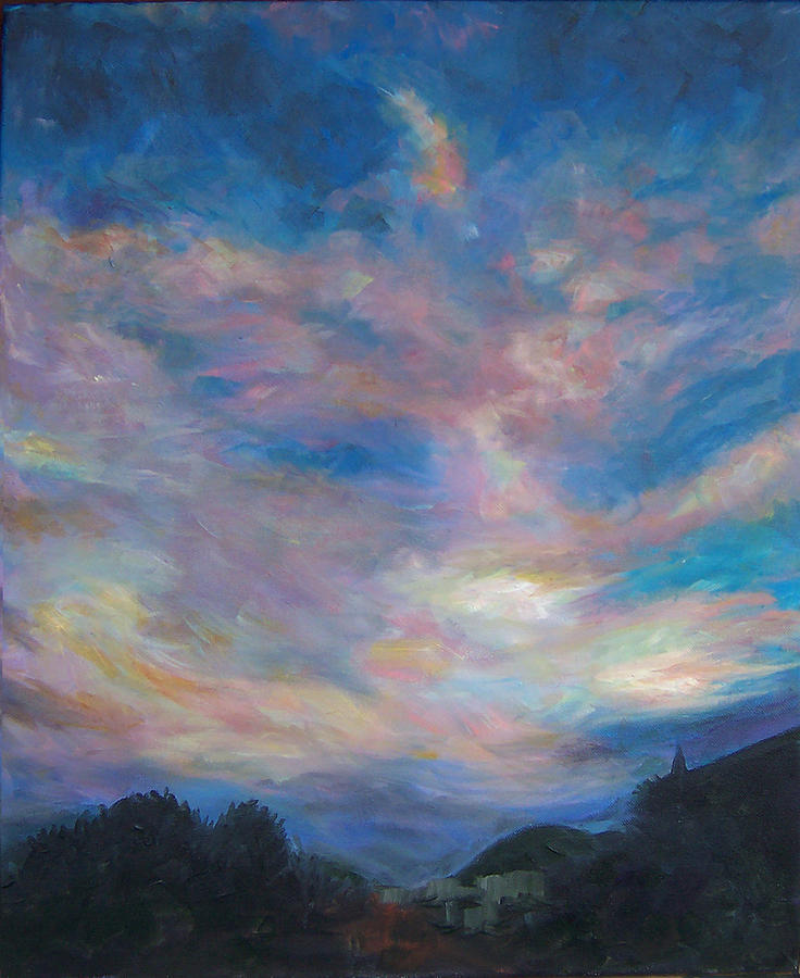 Clouds Painting - Reno Sky 1 by Susan Moore