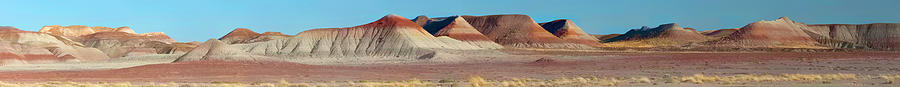 Painted Photograph - Repainted Desert by Gregory Scott