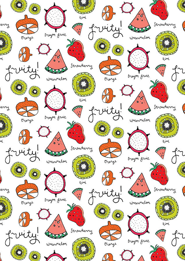 Susan Claire Photograph - Repeat Print - Fruits by MGL Meiklejohn Graphics Licensing