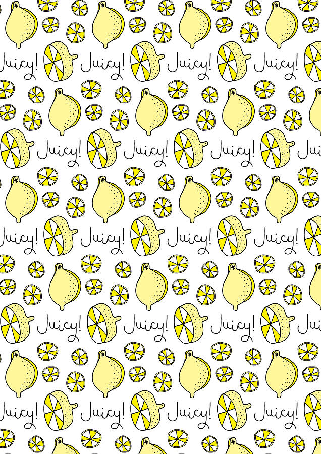 Susan Claire Photograph - Repeat Prtin - Juicy Lemon by MGL Meiklejohn Graphics Licensing