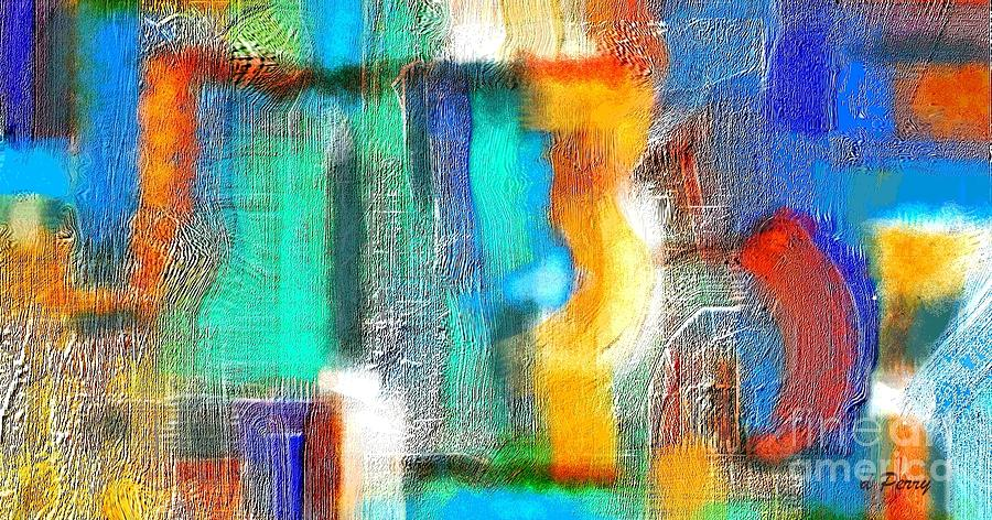 Greeting Cards Digital Art - Repercussions by D Perry