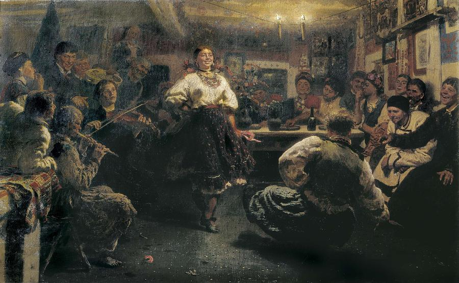 Horizontal Photograph - Repin, Ilya Yefimovich 1844-1930. The by Everett