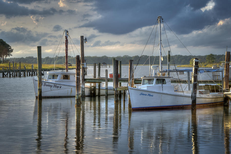 Rescue Fishing Boats Photograph by Williams-Cairns Photography LLC