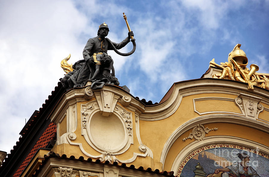 Landmark Photograph - Rescue In Prague by John Rizzuto