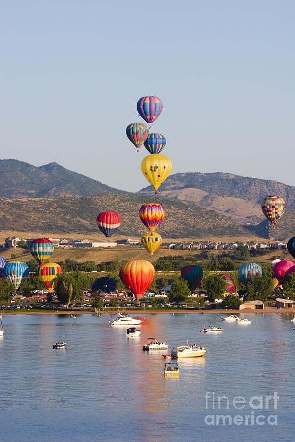 Reservoir Balloons Photograph
