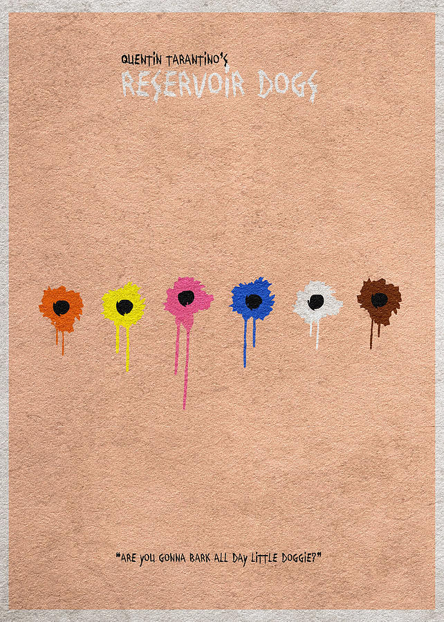 Reservoir Dogs Tapestry - Textile - Reservoir Dogs - 2 by Ayse Deniz