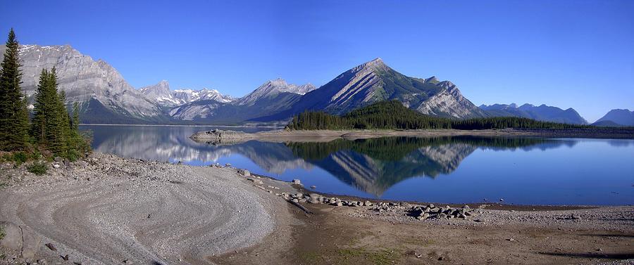 Upper Lakes Reservoir Sunrise - Kananaskis, Alberta Photograph