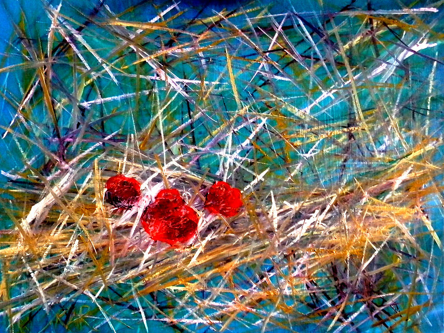 Abstract Painting - Residing by Art by Kar