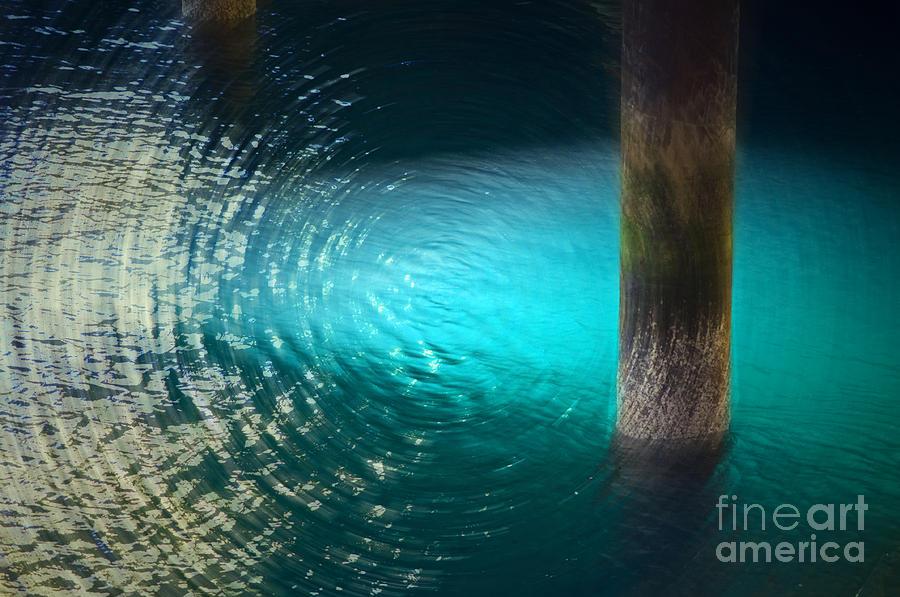 Water Photograph - Resonance by Gwyn Newcombe
