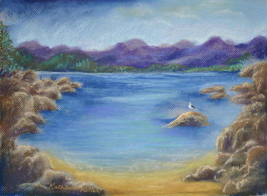 Lake Tahoe Painting - Rest for the Weary by Kathleen Keller