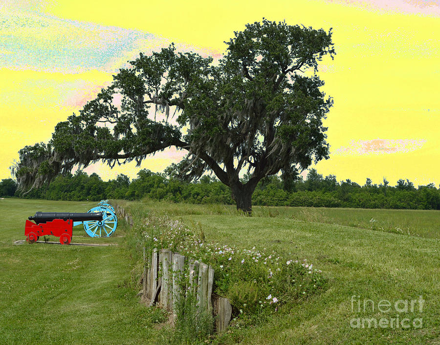 Battle Of New Orleans Digital Art - Rest In Peace 2 by Alys Caviness-Gober