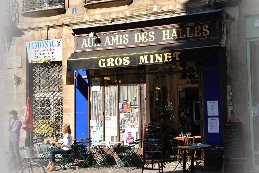 Paris Restaurant Photograph - Restaurant Ambience by Jacqueline M Lewis
