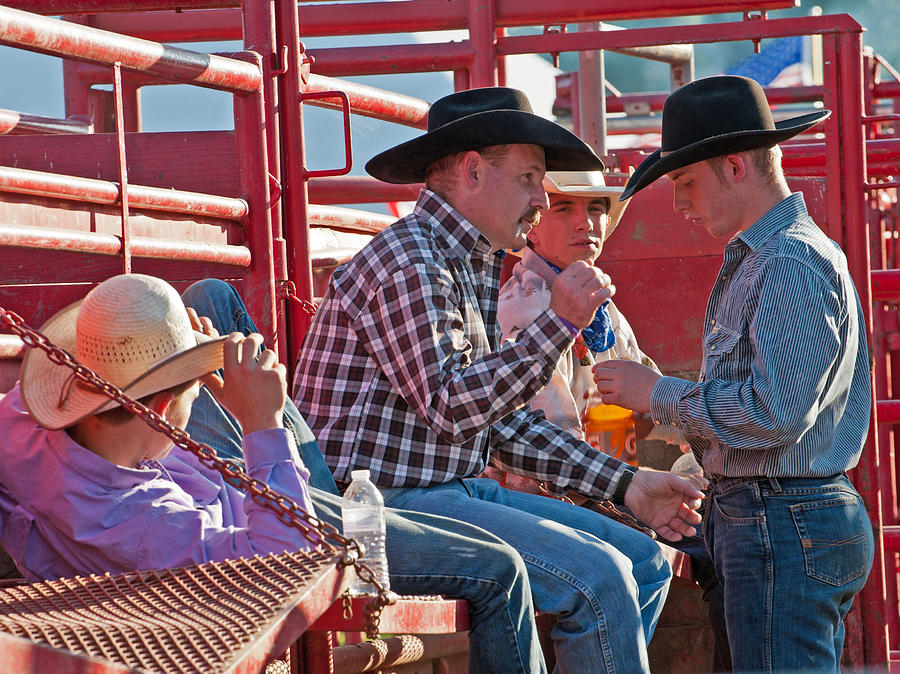 Resting Cowboys by Keith Swango