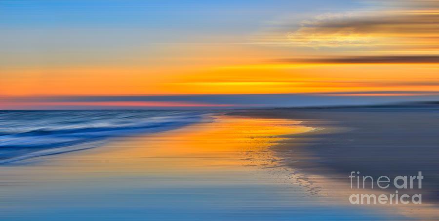 Outer Banks Photograph - Resting Place - A Tranquil Moments Landscape by Dan Carmichael