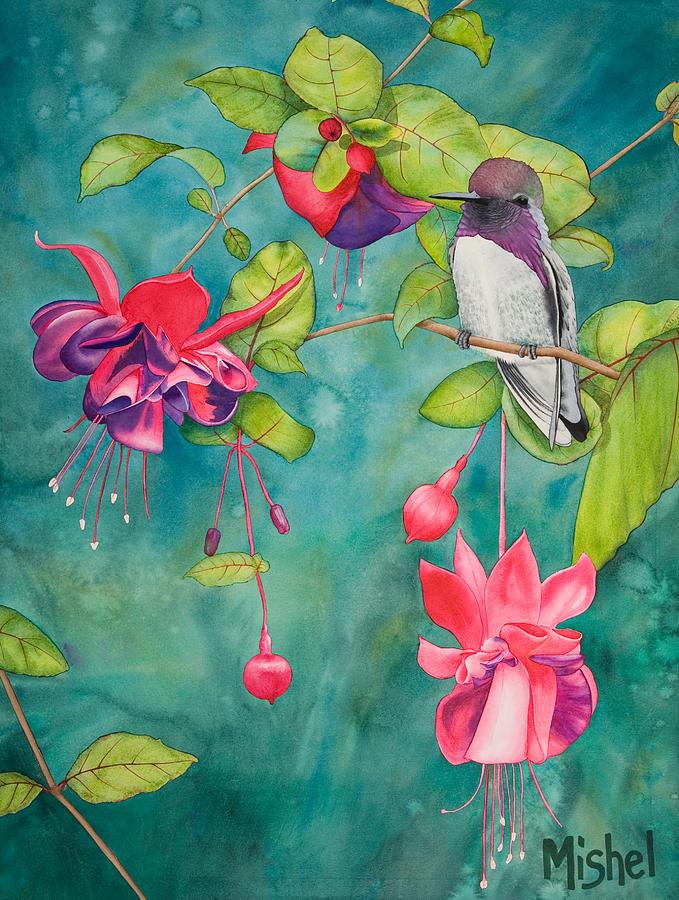Nature Painting - Resting Place by Mishel Vanderten