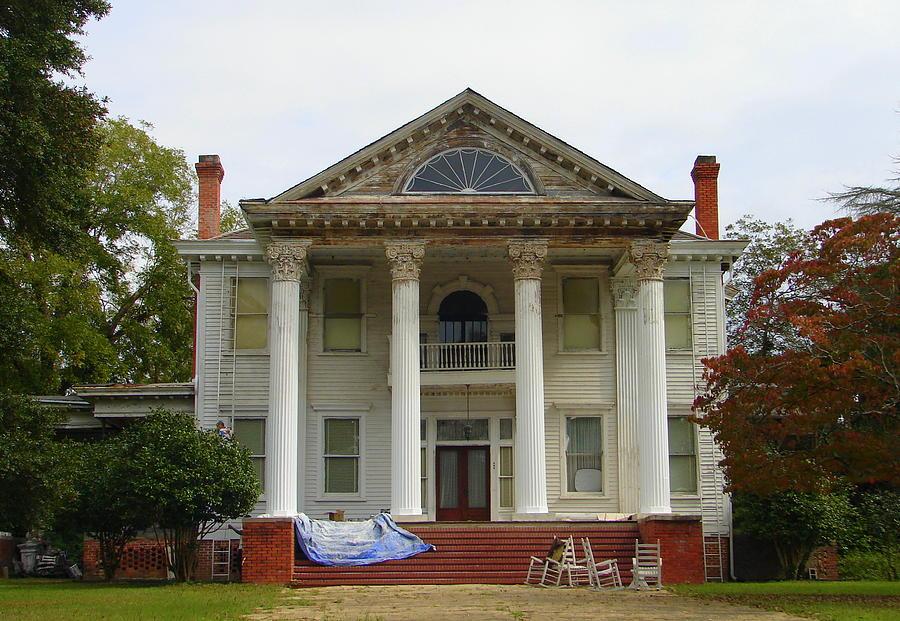 House Photograph - Restoration by Lew Davis