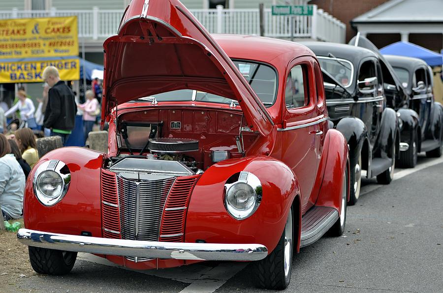 Antique Photograph - Restored Classic Cars by Susan Leggett