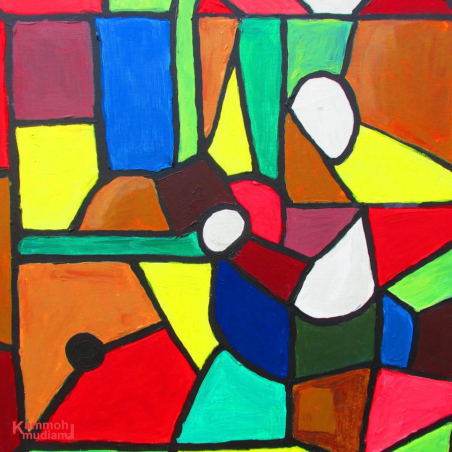 Retired Boxer Painting - Retired Boxer by Mudiama Kammoh