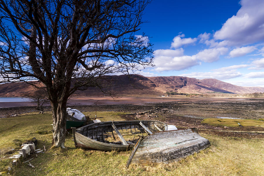 Boats Photograph - Retired by Karl Normington