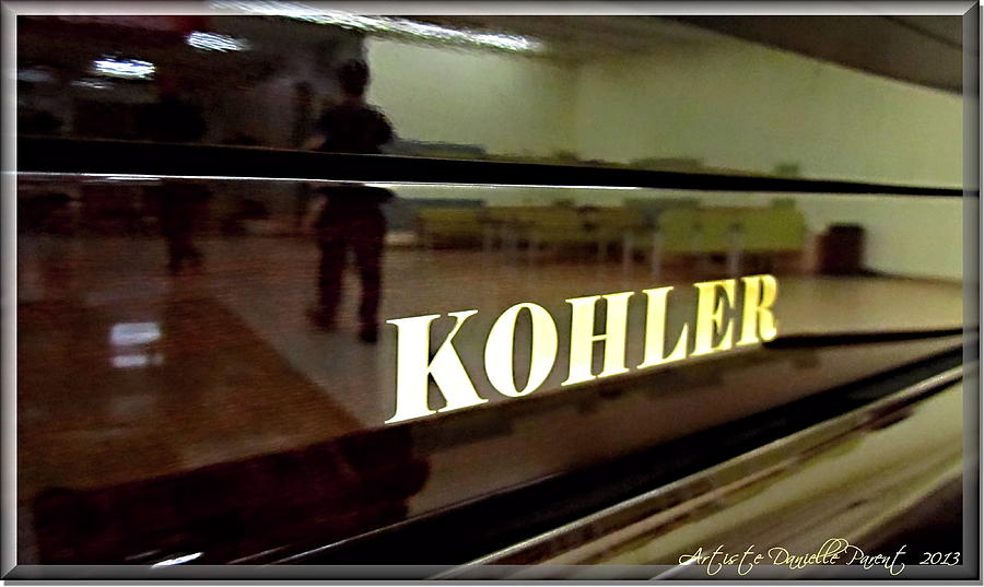 Piano Photograph - Retired Kohler Piano by Danielle  Parent