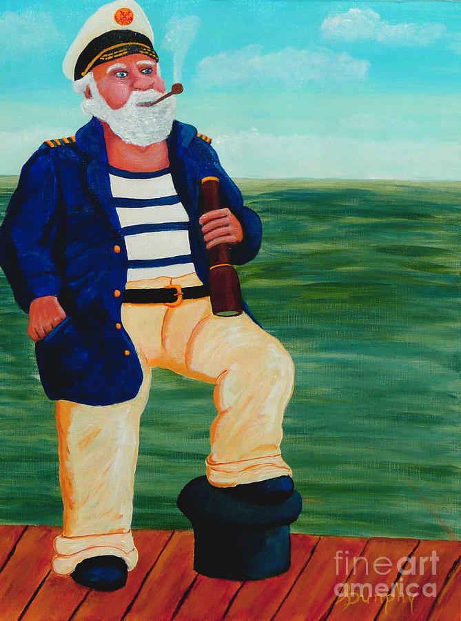 Seaman Painting - Retired Seaman by Anthony Dunphy