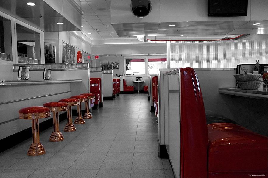 Soda Bar Photograph - Retro Deli by Glenn McCarthy Art and Photography