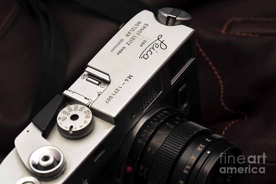 Leica M4 Photograph - Retro Leica M4 by John Rizzuto