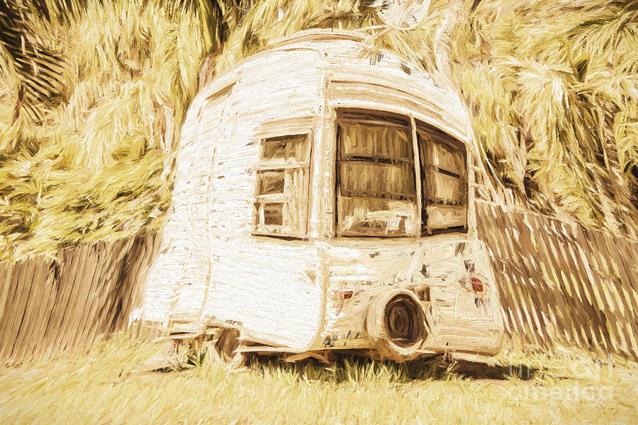 Caravan Photograph - Retrod The Comic Caravan by Jorgo Photography - Wall Art Gallery
