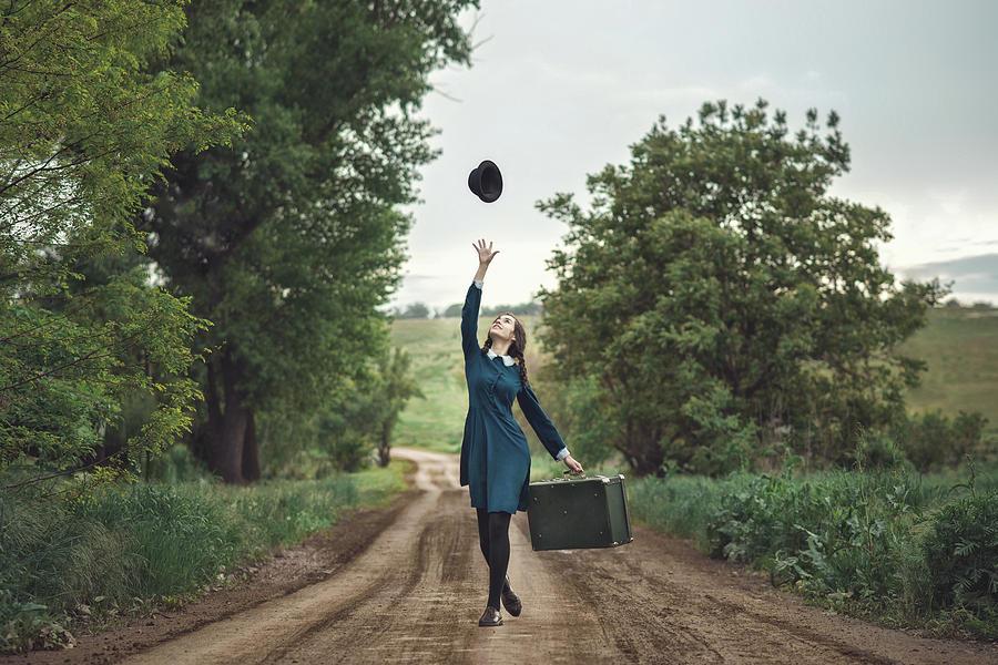 Portrait Photograph - Return Home by Anna