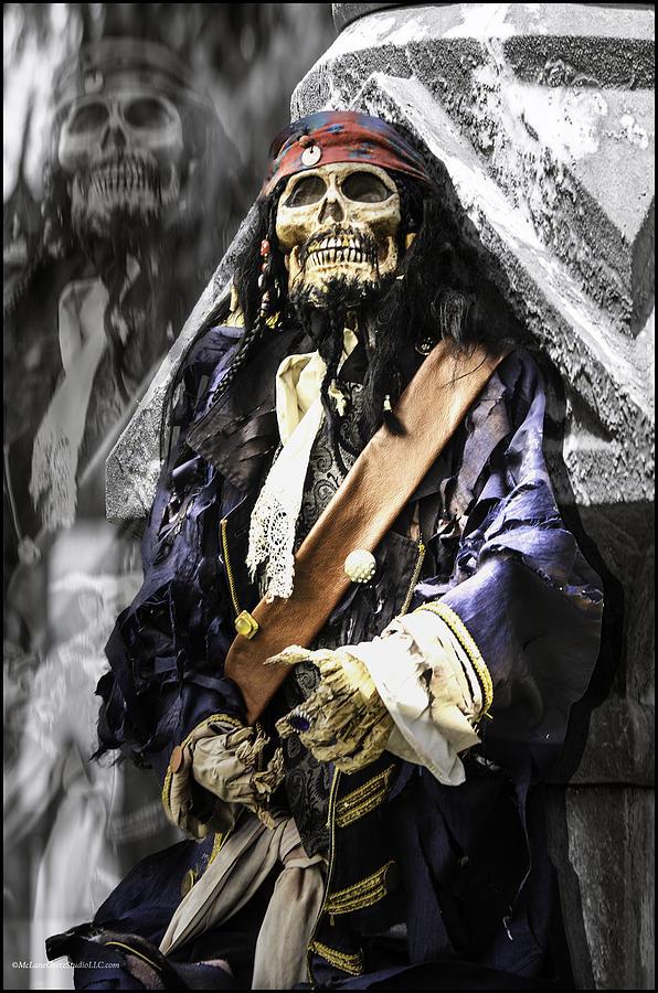 Vintage Photograph - Return Of The Pirate by LeeAnn McLaneGoetz McLaneGoetzStudioLLCcom