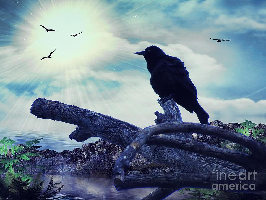 Crows Photograph - Return Of The Sentinels by Putterhug  Studio