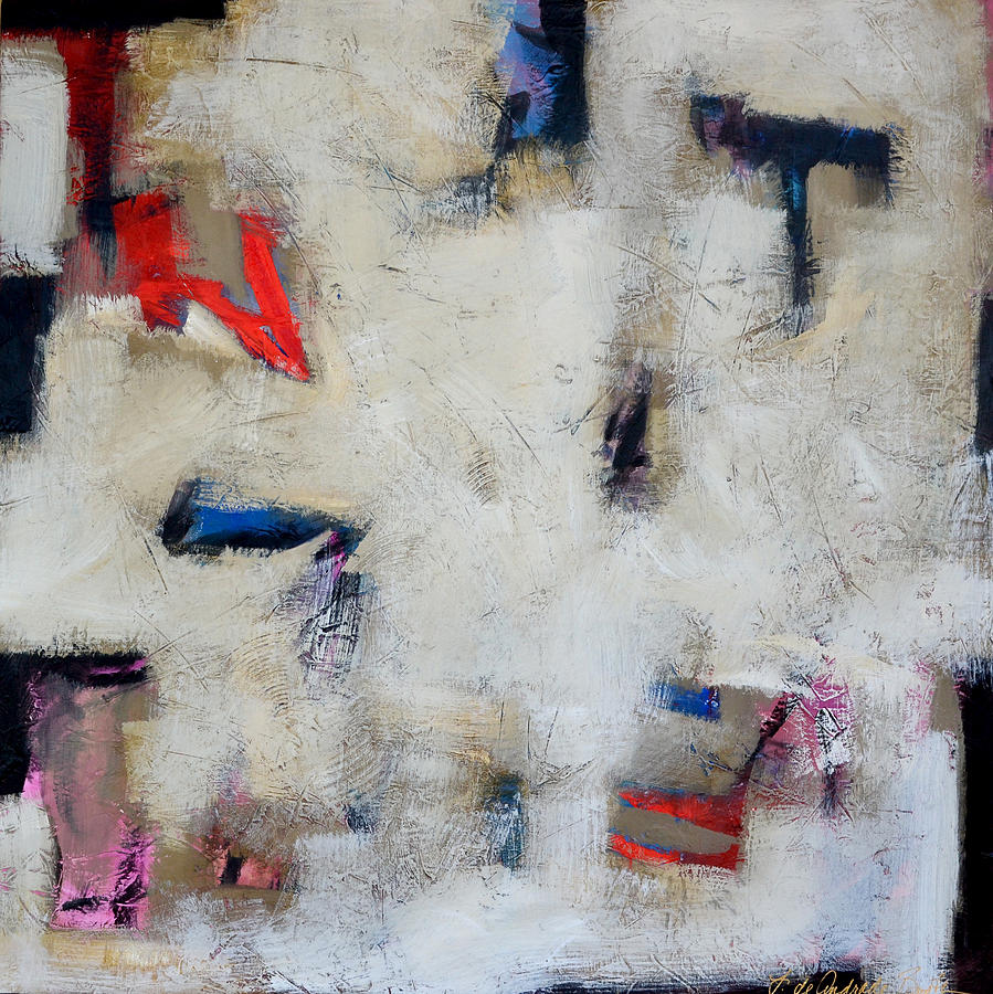 Abstract Painting Painting - Returning Home by Filomena Booth