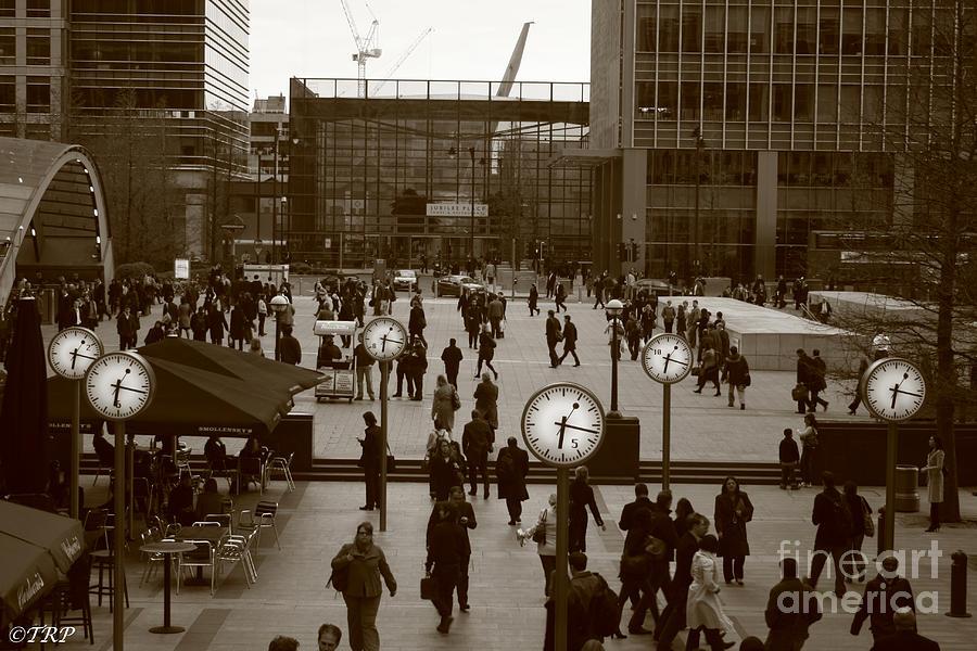 London Photograph - Reuters Plaza  by Size X