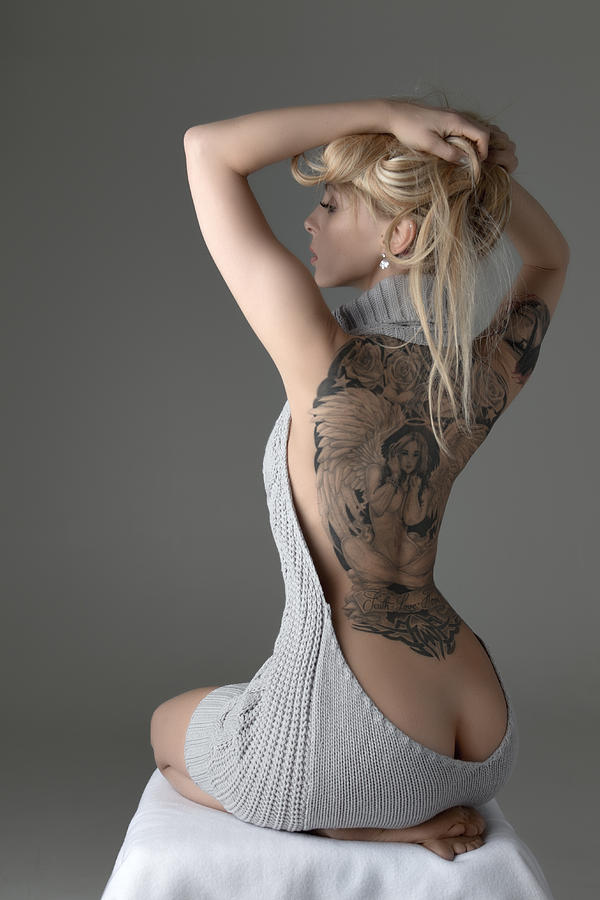 Tattoo Photograph - Revealing by Andreasr