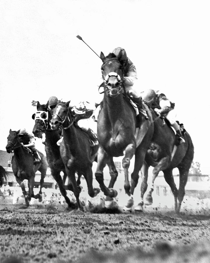 Revel Step Wins Race by Underwood Archives