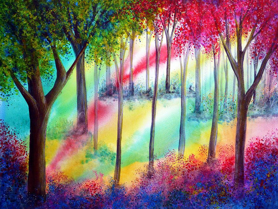 Landscape Painting - Revelation by Ann Marie Bone