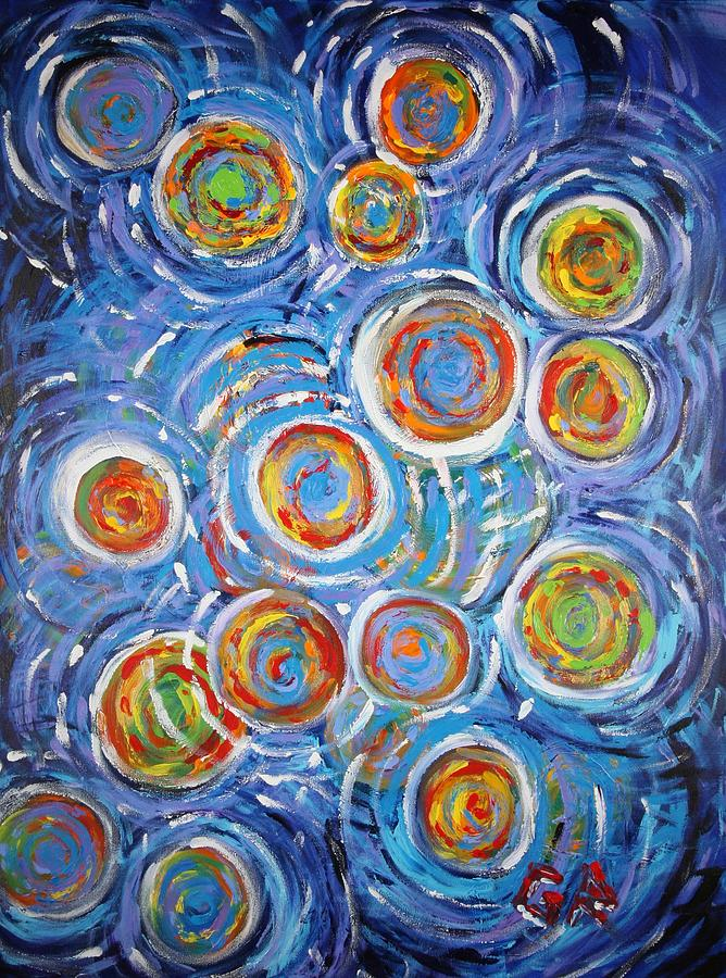 Abstract Painting - Revelation by Gary Rowell
