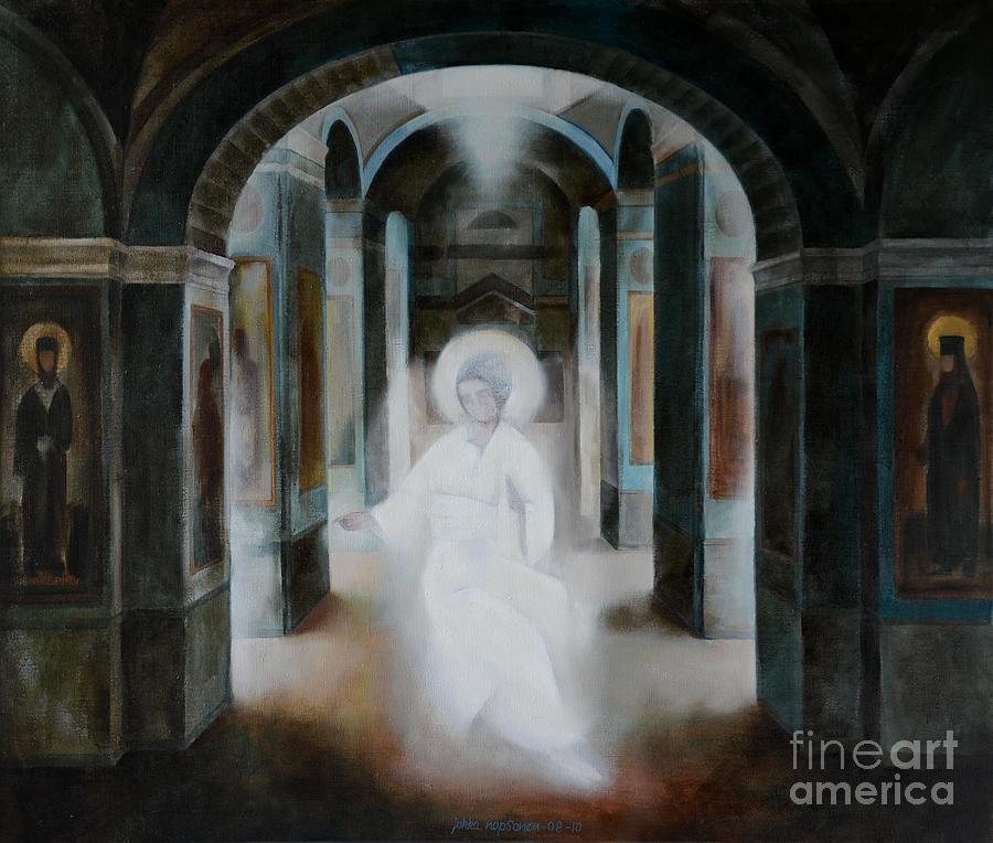 Angel Painting - Revelation by Jukka Nopsanen