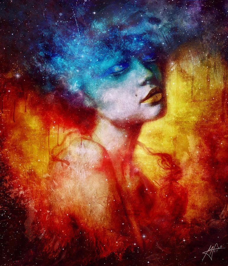 Surreal Digital Art - Revelation by Mario Sanchez Nevado