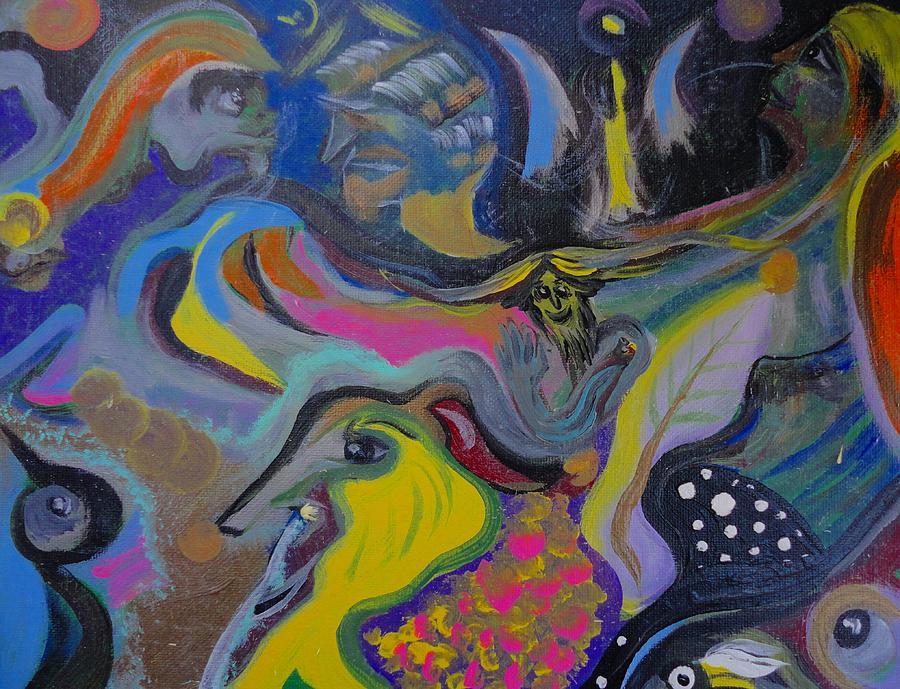 Revelation Painting - Revelation by Michael Braun