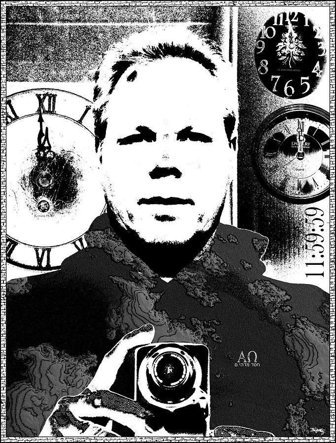 Self Portrait Digital Art - Revelatory Perception by Glenn McCarthy Art and Photography