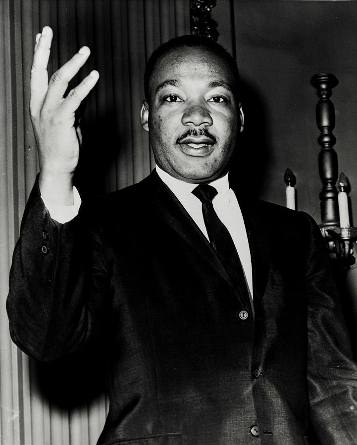 Martin Luther King Photograph - Reverend King by Benjamin Yeager