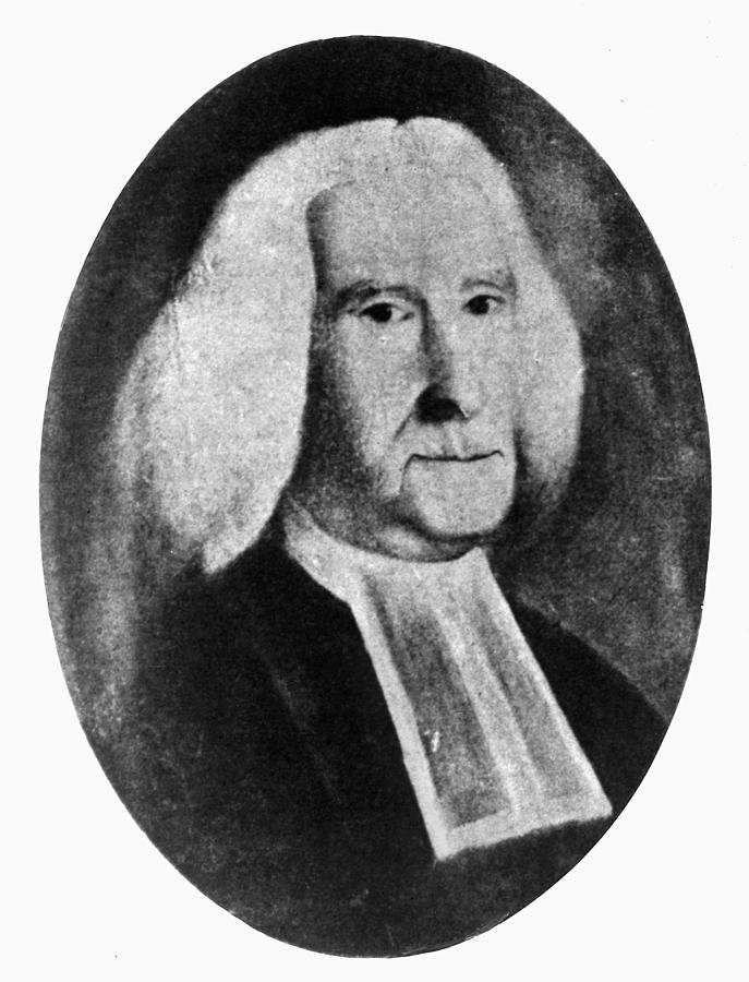 18th Century Painting - Reverend William Smith by Granger