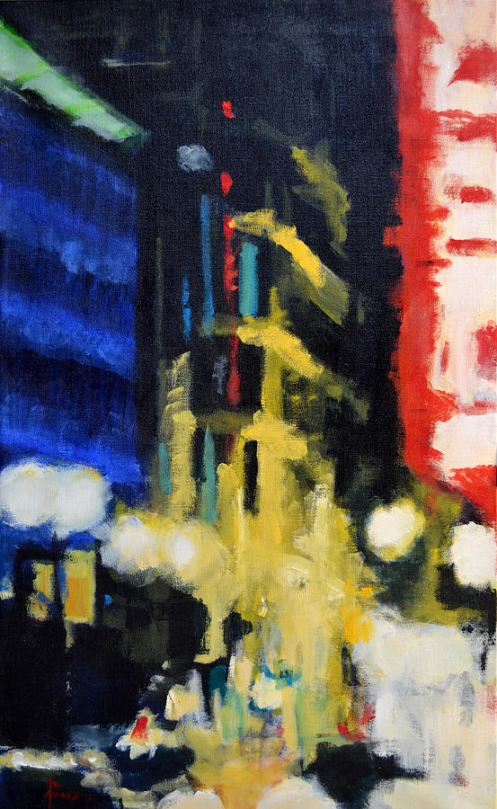 Urban Painting - Revisionist History by Robert Reeves
